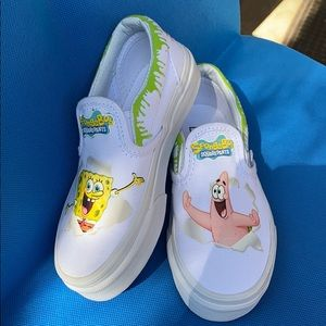Spongebob Squarepants Custom Vans